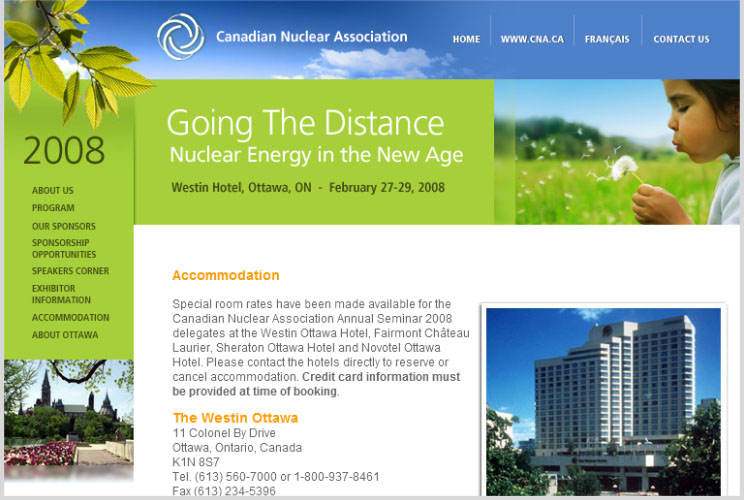 Canadian Nuclear Association 2008 Conference